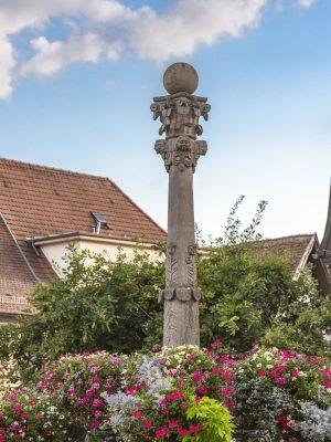 Colonne fontaine de Muzig