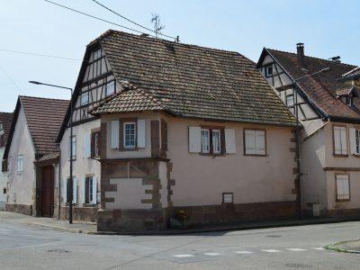 Dachstein maison avec oriel