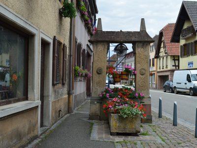 Puits Renaissance de Dorlisheim