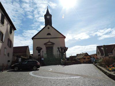 Eglise Saints Come et Damien à Ernolsheim Bruche