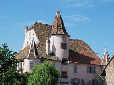 Château Urendorf à Ernolsheim-Bruche ©Martin Pacou
