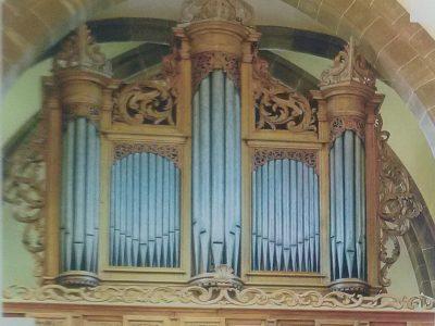 orgue de l'abbatiale St Cyriaque
